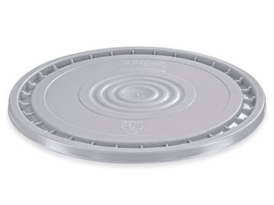 EZ Peel Lid for 3.5, 5, 6, and 7 Gallon Plastic Pail - Gray