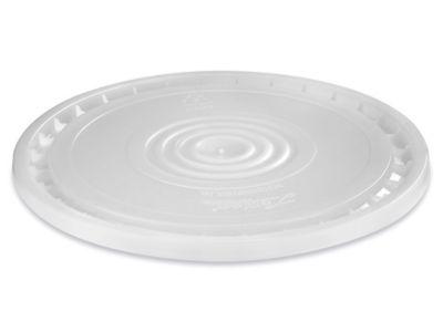 EZ Peel Lid for 3.5, 5, 6, and 7 Gallon Plastic Pail - Natural