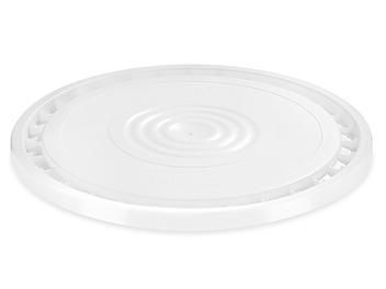 EZ Peel Lid for 3.5, 5, 6, and 7 Gallon Plastic Pail - White S-20541W