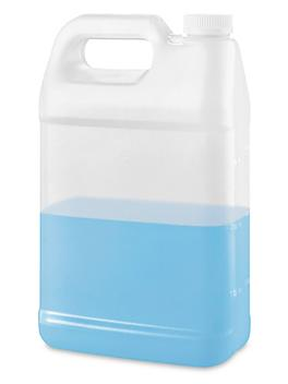 Child Resistant Jugs - F-Style, 1 Gallon, Natural S-20545B