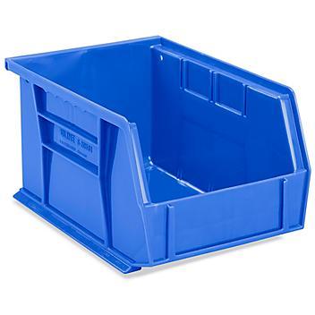"""Plastic Stackable Bins - 9 1/2 x 6 x 5"""""""