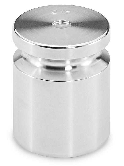 Stainless Steel Weight with NIST Traceable Certificate - Class 5, 2 lb S-20643