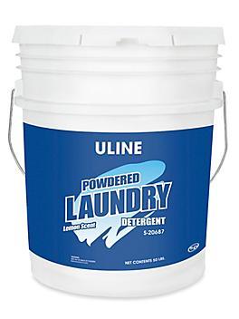 Uline High Efficiency Powder Detergent - 50 lb Pail S-20687