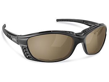 Livewire™ Safety Glasses - Black Frame, Smoke Lens S-20722BL-SM