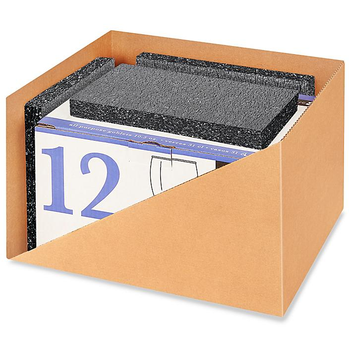 """Plank Foam without Adhesive - Non-Perfed, Charcoal, 24 x 24 x 1"""" S-20810"""