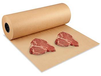 "Butcher Paper Roll - Unbleached, 24"" x 1,100' S-20819"