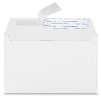 "A9 Self-Seal Announcement Envelopes - 5 3/4 x 8 3/4"" S-20838"