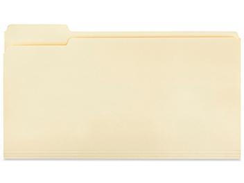 File Folders - Legal, Manila S-20840
