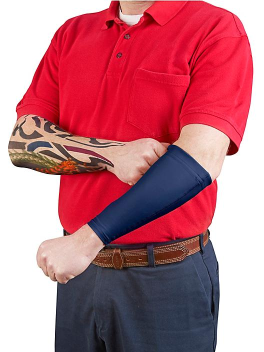 Tattoo Cover Sleeve - Forearm, XL/2XL, Blue S-20844BLU-X