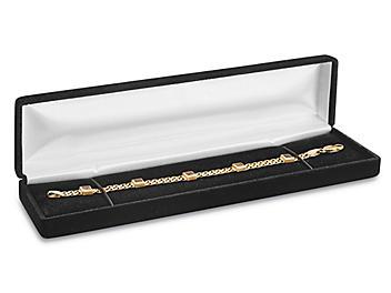 """Velvet Jewelry Boxes - 8 x 2 x 1 1/8"""" S-20868"""