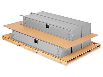 """60 x 96"""" 275 lb Double Wall Corrugated Pads S-20990"""