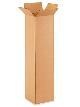 """9 x 9 x 36"""" Tall Corrugated Boxes S-21010"""