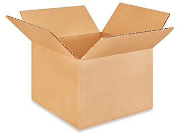 """9 x 9 x 6"""" Lightweight 32 ECT Corrugated Boxes S-21011"""