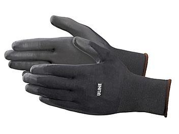 Uline Ultra-Lite Polyurethane Coated Gloves - Large S-21088-L
