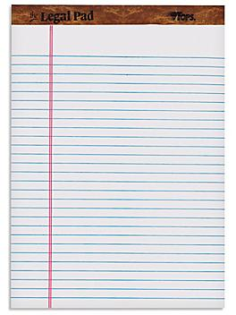 """Letter Notepads - 8 1/2 x 11 3/4"""", White S-21132W"""