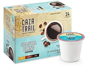 Single-Serve Coffee Cups - Coastal Blend Medium Roast S-21193