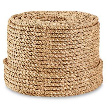 "Twisted Manila Rope - 3/4"" x 600' S-21252"