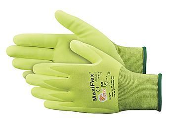 MaxiFlex® 34-874FY Micro-Foam Nitrile Coated Gloves - Medium S-21281-M