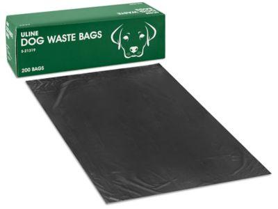 Uline Dog Waste Bags - 8 x 13