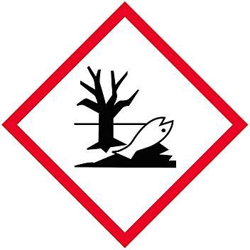 "GHS Pictogram Labels - Environment, 1 x 1"" S-21338"