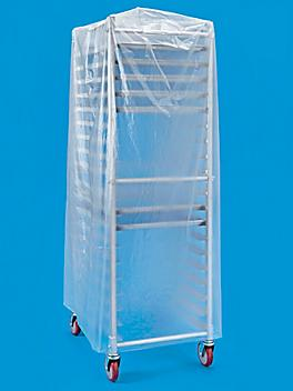 """Mobile Pan Rack Cover - 52 x 80"""", Disposable S-21385"""