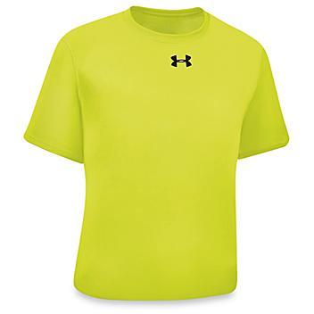 Under Armour® Shirt - Hi-Vis, 2XL S-21474G-2X