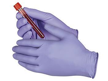 Uline Safe-Flex Nitrile Gloves - Powder-Free, Small S-21573-S