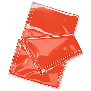 Replacement Welding Curtain - 6 x 10', Orange S-21632O