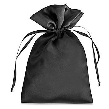 "Satin Bags - 5 x 7"", Black S-21653BL"
