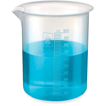 Plastic Beakers - 1,000 mL S-21659
