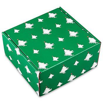 """Holiday Mailer - 10 x 10 x 5"""", Holiday Tree S-21667TREE"""
