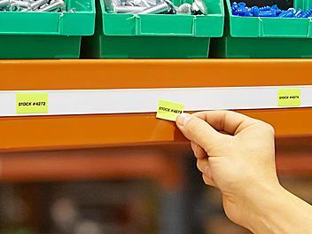 "Label Holder Strips - 1 x 48"" S-21749"