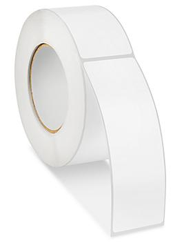 """Block Out Labels - White, 2 x 6"""" S-21769W"""