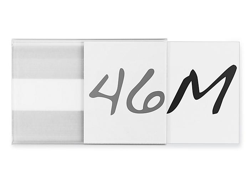 "Plastic Label Holders - Adhesive Back, 2 x 3"" S-21785"