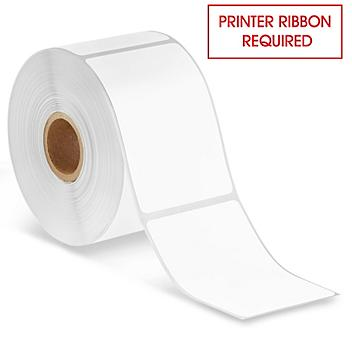 """Desktop Thermal Transfer Labels - 2 x 3"""", Ribbons Required S-21830"""