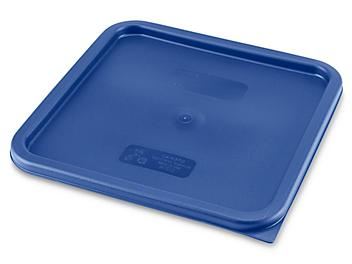 Cambro® Square Food Storage Container Lid - 12 and 22 Quart S-21887