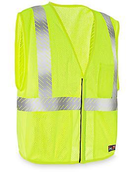 Class 2 Flame-Resistant Hi-Vis Safety Vest - 2XL S-21955-2X