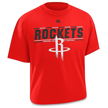 NBA T-Shirt - Houston Rockets, 2XL S-21997HOU2X