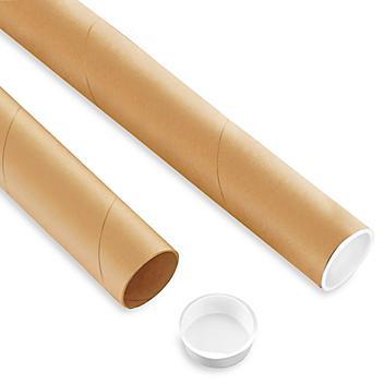 """Custom Kraft Mailing Tubes - 1 x 36"""" S-22012"""