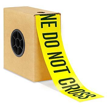 "Barricade Tape - 3"" x 1,000', ""Police Line Do Not Cross"" S-22041"