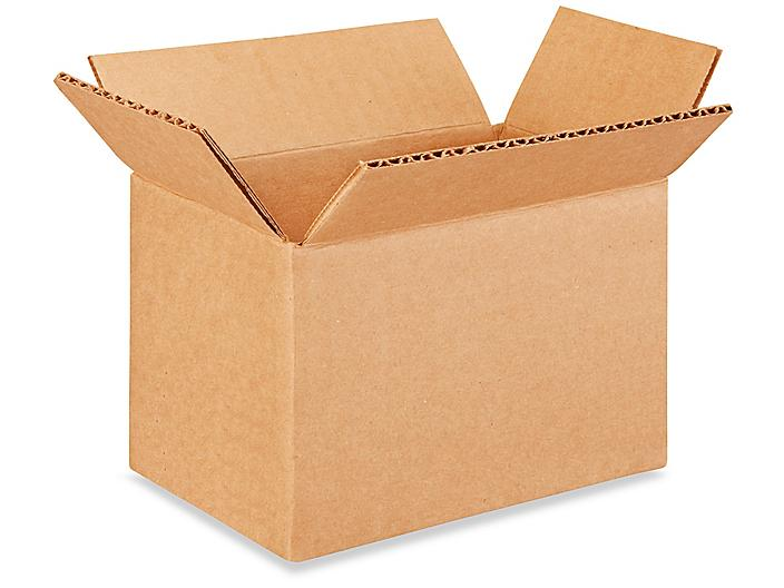 """6 x 4 x 4"""" Lightweight 32 ECT Corrugated Boxes S-22103"""