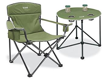 Camp Chair and Table Combo S-22136