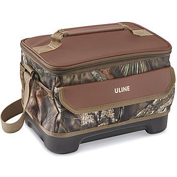Uline Lunch Box  - Camo/Brown S-22139CAMO