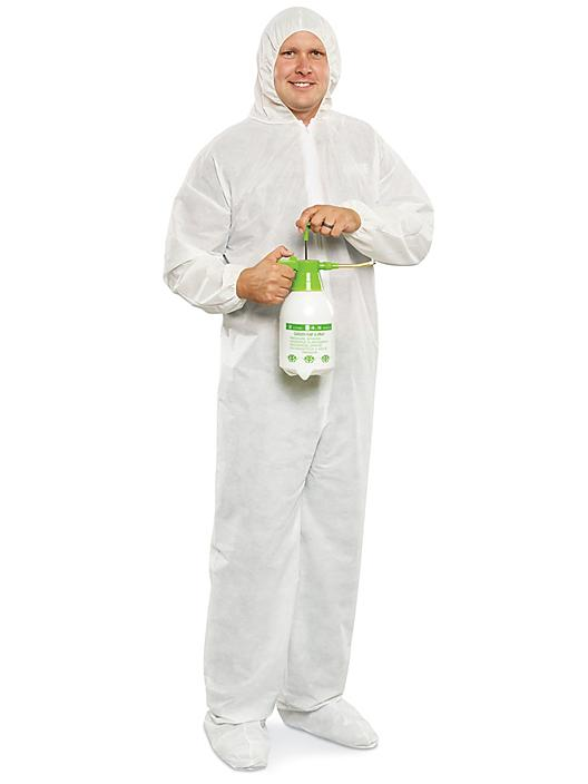 Uline Industrial Deluxe Coverall - Large S-22213-L