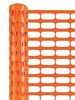 Safety Fence - Heavy Duty, 4 x 100', Orange S-22226O
