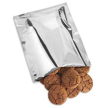 """Metalized Food Bags - Open End, 10 x 14"""" S-22300"""