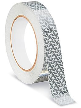 """Outdoor Reflective Tape - 1"""" x 50', White S-22329W"""