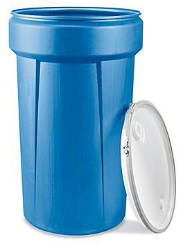 Nestable Plastic Drum with Lid S-22341