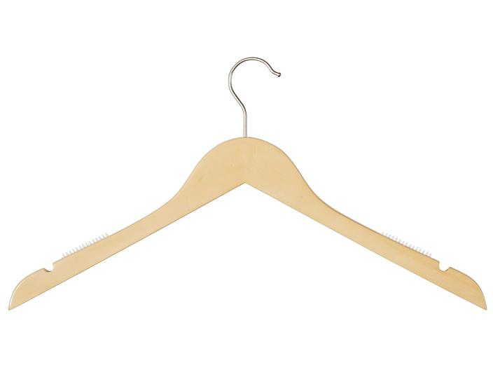 Wood Hangers - Shirt with Notches