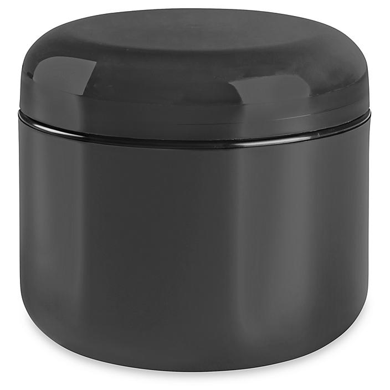 Double Wall Dome Jars Bulk Pack - 4 oz, Black S-22465B-BL